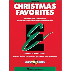 Hal Leonard Essential Elements Christmas Favorites Conductor Includes Accompaniment Book/CD (862517)