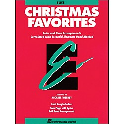 Hal Leonard Essential Elements Christmas Favorites Flute (862500)