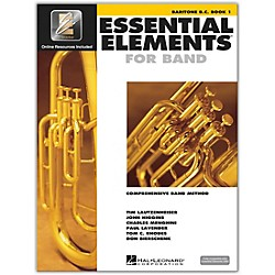 Hal Leonard Essential Elements For Band - Baritone BC Book 1 With EEi (Book/CD-ROM) (862578)