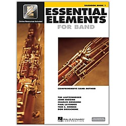 Hal Leonard Essential Elements For Band - Bassoon Book 1 with EEi (Book/CD-ROM) (862568)