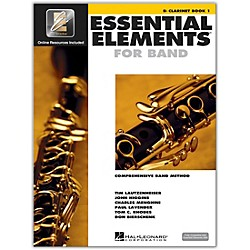 Hal Leonard Essential Elements For Band - Clarinet Book 1 With EEi (Book/CD-ROM) (862569)