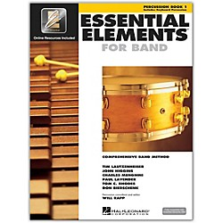 Hal Leonard Essential Elements For Band - Percussion Book 1 With EEi (Book/CD-ROM) (862582)