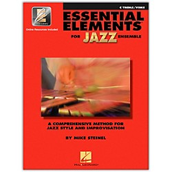 Hal Leonard Essential Elements For Jazz Ensemble - C Treble/Vibes Book/2CDs (841356)