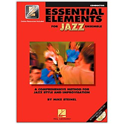 Hal Leonard Essential Elements For Jazz Ensemble - Conductor 2CD/Pkg (841357)
