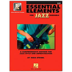 Hal Leonard Essential Elements For Jazz Ensemble Bass Book/2CDs (841354)