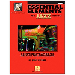 Hal Leonard Essential Elements For Jazz Ensemble Drums 2CD/Pkg (841355)