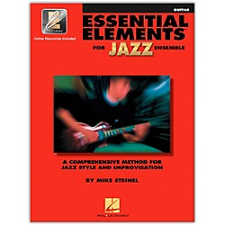 Hal Leonard Essential Elements For Jazz Ensemble Guitar Book/2CDs (841352)