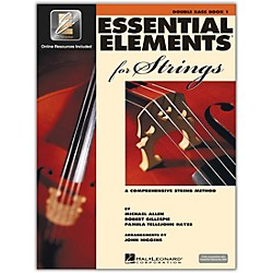 Hal Leonard Essential Elements For Strings - String Bass Book 1 With EEi (Book/CD-ROM) (868052)