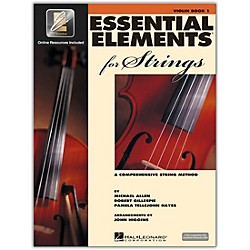 Hal Leonard Essential Elements For Strings - Violin Book 1 With EEi (Book/CD-ROM) (868049)
