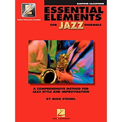 Hal Leonard Essential Elements Jazz Ensemble for Baritone Saxophone (Book with 2 CDs) (841349)
