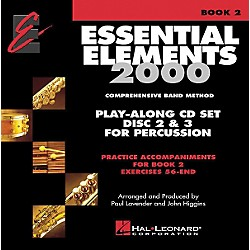 Hal Leonard Essential Elements Play Along CD Trax For Book 2 Percussion (862609)