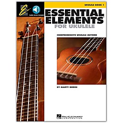 Hal Leonard Essential Elements Ukulele Method Book 1 Book/CD (116015)