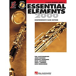 Hal Leonard Essential Elements for Alto Clarinet (Book 2 with CD) (862592)