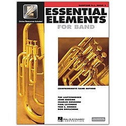 Hal Leonard Essential Elements for Baritone Bass Clef (Book 2 with CD) (862600)