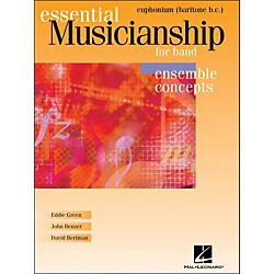 Hal Leonard Essential Musicianship For Band - Ensemble Concepts Baritone Bc (960072)