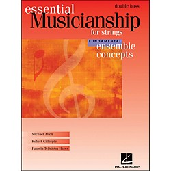 Hal Leonard Essential Musicianship for Strings - Ensemble Concepts Fundamental Double Bass (960190)