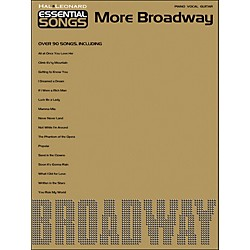 Hal Leonard Essential Songs - More Broadway arranged for piano, vocal, and guitar (P/V/G) (311877)