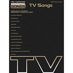 Hal Leonard Essential Songs - TV Songs Piano, Vocal, Guitar Songbook (311223)