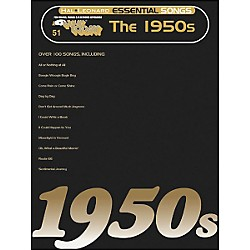 Hal Leonard Essential Songs - The 1950's E-Z Play 51 (100208)