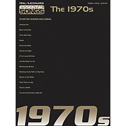 Hal Leonard Essential Songs - The 1970's Piano, Vocal, Guitar Songbook (311189)