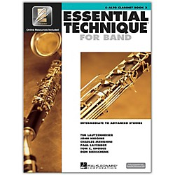 Hal Leonard Essential Technique 2000 E-Flat Alto Clarinet (Book/CD) (862621)