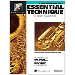 Hal Leonard Essential Technique 2000 for Baritone Saxophone (Book 3 with CD) (862625)