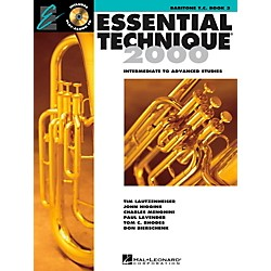Hal Leonard Essential Technique 2000 for Baritone Treble Clef (Book 3 with CD) (862630)