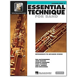 Hal Leonard Essential Technique 2000 for Bassoon (Book 3 with CD) (862619)