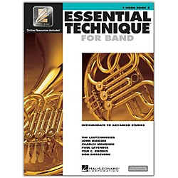 Hal Leonard Essential Technique 2000 for French Horn (Book/CD) (862627)