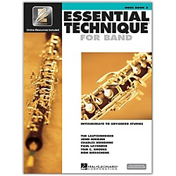 Hal Leonard Essential Technique 2000 for Oboe (Book 3 with CD) (862618)