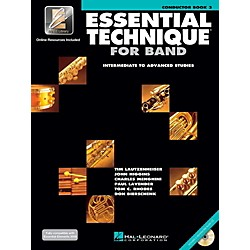 Hal Leonard Essential Technique 2000 for Strings Bass 3 Book/CD (862616)