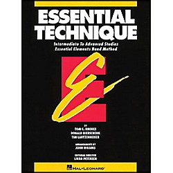 Hal Leonard Essential Technique B Flat Trumpet Intermediate To Advanced Studies (863554)