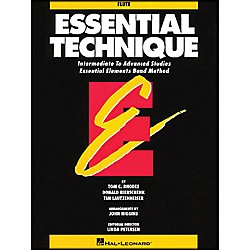 Hal Leonard Essential Technique Flute Intermediate To Advanced Studies (863545)