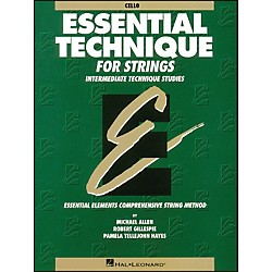 Hal Leonard Essential Technique For Strings Cello (868006)