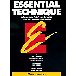 Hal Leonard Essential Technique For Tuba Intermediate To Advanced Studies (863559)