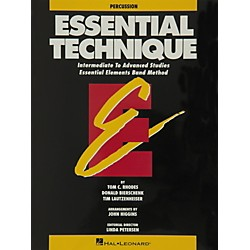 Hal Leonard Essential Technique Percussion Intermediate To Advanced Studies (863560)