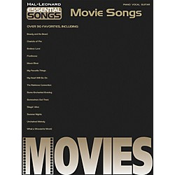 Hal Leonard Essential songs - Movie Songs Piano, Vocal, Guitar Songbook (311236)