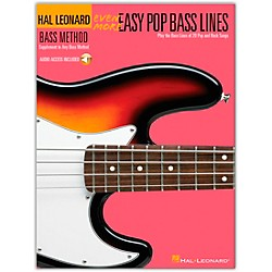 Hal Leonard Even More Easy Pop Bass Lines Book with CD (695820)
