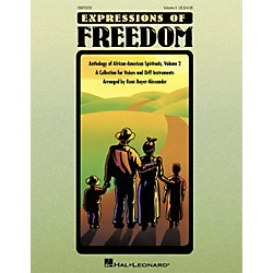 Hal Leonard Expressions Of Freedom Volume 2 (Anthlogy of African American Spirituals) by Rene Boyer-Alexander (O (9970233)