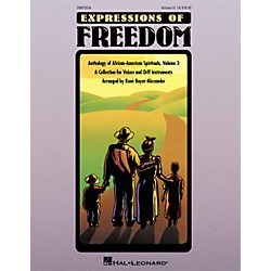 Hal Leonard Expressions Of Freedom Volume 3 (Anthlogy of African American Spirituals) by Rene Boyer-Alexander (O (9970234)