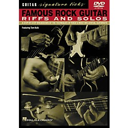 Hal Leonard Famous Rock Guitar Riffs and Solos DVD (320233)