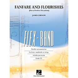 Hal Leonard Fanfare And Flourishes (For A Festive Occasion) - Flexband Series Level 2-3 (4003389)
