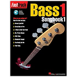 Hal Leonard Fast Track Bass Tab Songbook 1 CD & Book (697289)