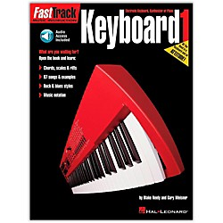 Hal Leonard Fast Track Keyboard Method Book 1 CD Package (697283)
