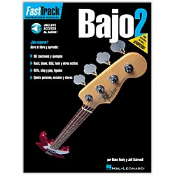 Hal Leonard FastTrack Bass Method Book 2 Book/CD Spanish Edition (695728)