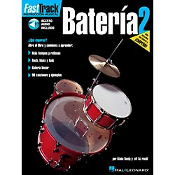 Hal Leonard FastTrack Drum Method Book 1 Book/CD - Spanish Edition (695727)