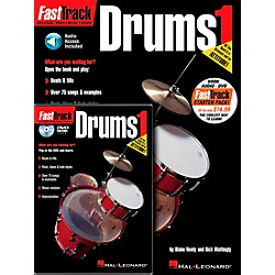 Hal Leonard FastTrack Drum Method Starter Pack - Includes Book/CD/DVD (696405)