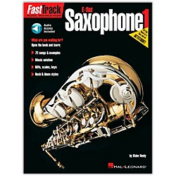 Hal Leonard FastTrack For E Flat Alto Saxophone Book 1 Book/CD (695241)