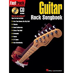 Hal Leonard FastTrack Guitar Rock Songbook Book/CD (696438)