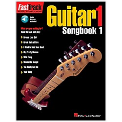 Hal Leonard FastTrack Guitar Songbook 1 Level 1 Book with CD (697287)
